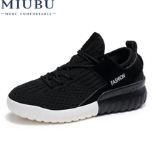 MIUBU 2019 new Spring Autumn Fashion Sneakers Woman Flats Casual Mesh Flat Loafers Shoes Women zapatillas mujer Size 35-40