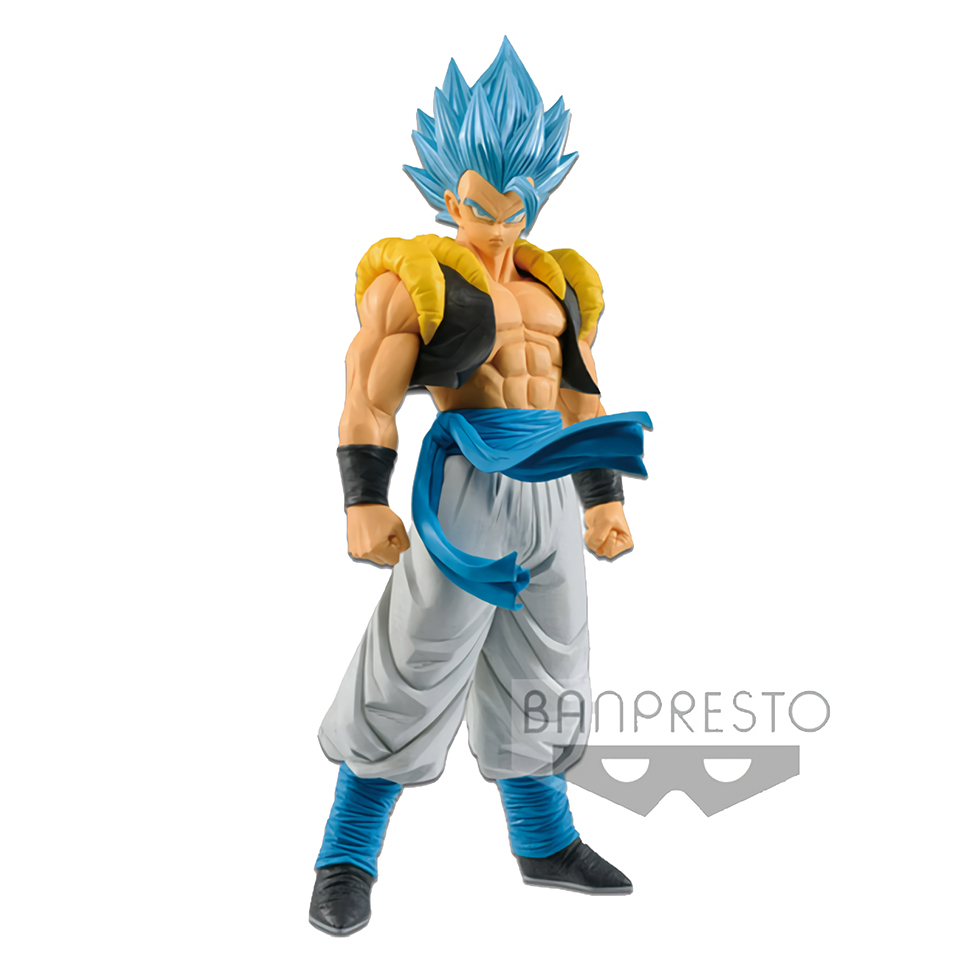 Figurine Banpresto originale Tronzo Dragon Ball Super GROS Grandista ROS Gogeta figurine PVC modèle d'action Gogeta SSJ Figural