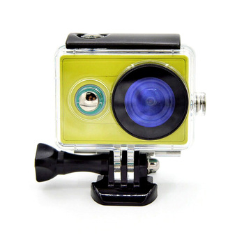 Nurkowanie 40m podwodna wodoodporna obudowa ochronna etui na xiaomi Yi 1 Xiaoyi 1 akcesoria do kamer sportowych F3063 tanie i dobre opinie KIMILILY 6 1-5 4ss Wodoodporne Obudowy Pakiet 1