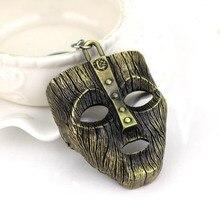 Брелок для ключей в стиле панк, Джим Керри, маска из фильма, необычное платье, брелок для ключей Loki на Хэллоуин, подвеска, забавный автомобиль