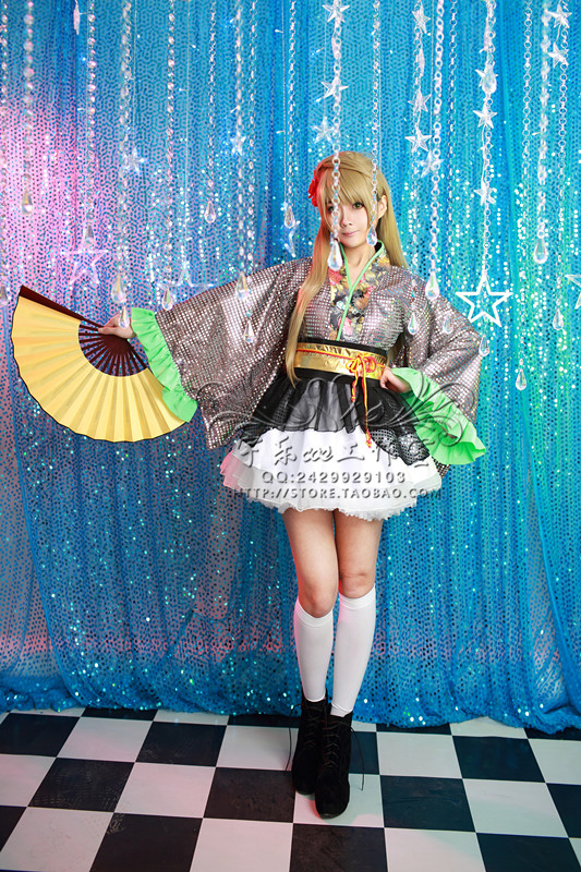 Anime LOVE LIVE! Darkimakura Dance Of The City Uniform Dress Cosplay Costume Any Size Fr ...