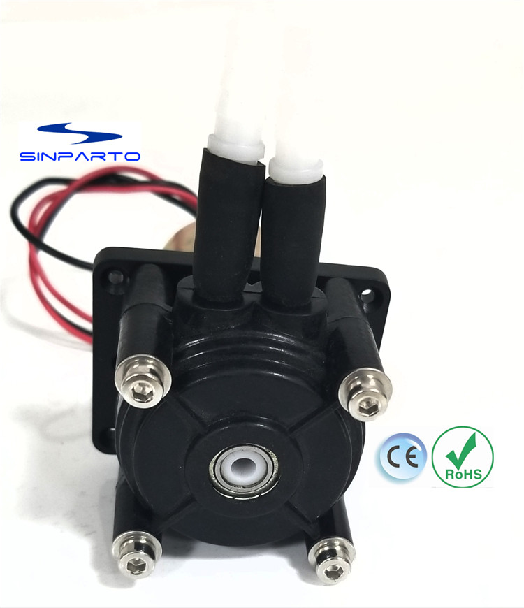 Sinparto 1pcs DC24V 0.3-500ml/min Flow Peristaltic Pump Dosing Pump Anti-corrosion Essential Oil Pump Strong Suction Pump