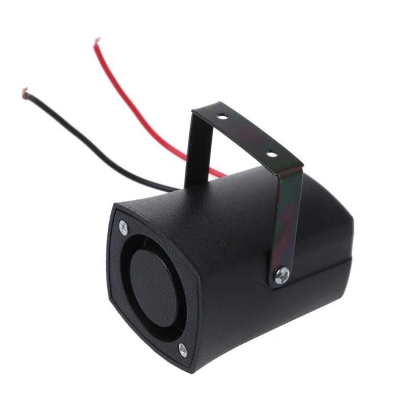 Universal DC12V Auto Warning Siren Backup Alarms Horns Beep Reverse Slim Invisible Horn High Quality