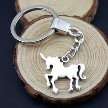 Home Decor Metal Crafts Party Favors Unicorn Pendants DIY Car Key Ring Holder Souvenir For Gift
