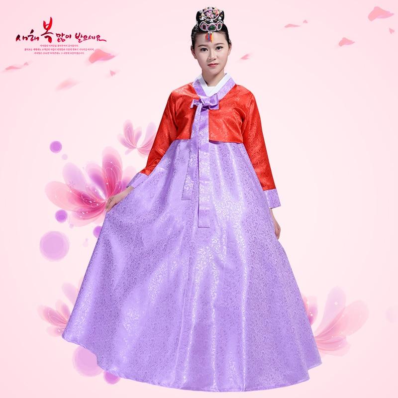 New Asia Hanbok Formelle Kjoler Koreansk Tradisjonell Klær Dameklær - Nasjonale klær - Bilde 2