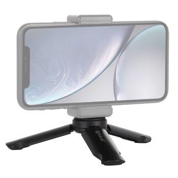 PULUZ przenośny składany statyw z tworzywa sztucznego do kamery GoPro kamery sportowe telefony komórkowe tanie i dobre opinie Statyw stołowy Kamera wideo Działania Kamery 360 ° Kamera Wideo Punkt i Strzelać Kamery Smartfony System Kamery lustra