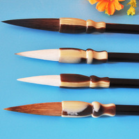 4 pcs/set Best Painting Brush traditional chinese calligraphy DIY painting tool stationery watercolor paint brush