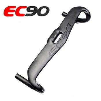 ¡Nuevo! manillar de fibra de carbono EC90 para bicicleta de carretera, manillar de bicicleta de carretera 31,8x400 420 440MM