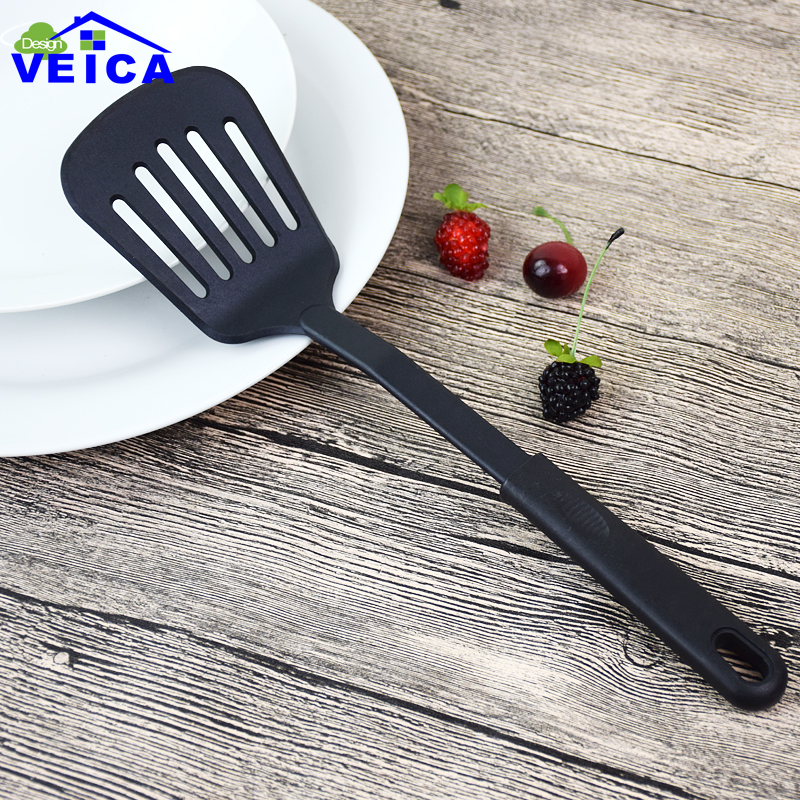 High Quality Kitchen Cooking Tools Turners Kitchen Gadget Nylon Slotted Spatula Cooking Cookware Utensils Tools