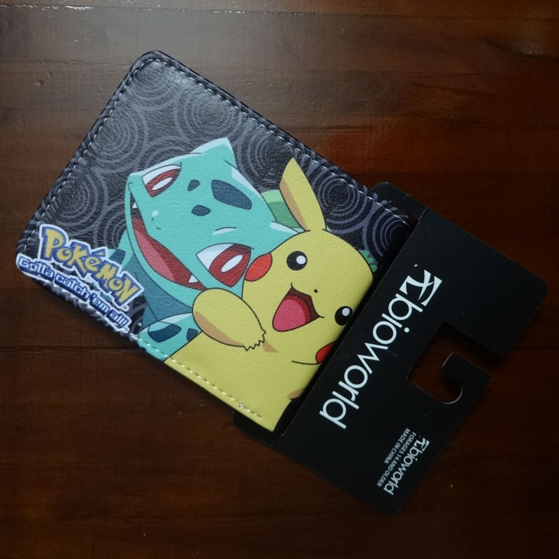 Luggage & Bags Pocket Monster Pokemon Wallets Creative Gift Purse Kids Kawaii Pikachu Poke Ball Money Bags Men Women Leather Short Wallet