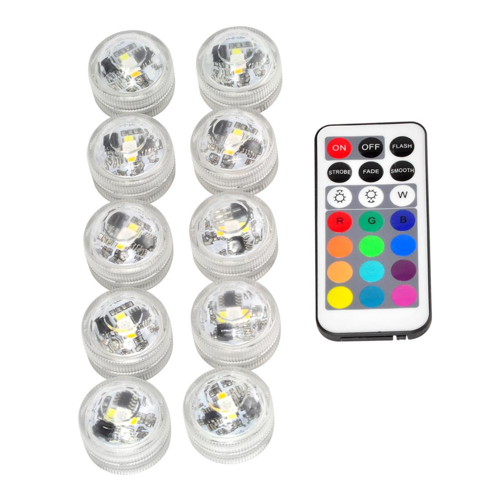 Charitable Kitosun Mul-colors Led Lights Remote Controlled Submersible Led Lights With Batterries For Wedding Party Paper Lantern Decor Rich In Poetic And Pictorial Splendor Led Underwater Lights Led Lamps