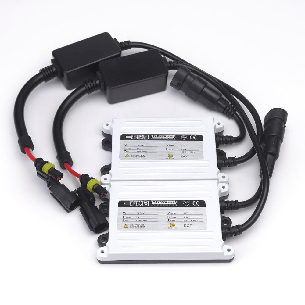 2 ədəd AC xenon 55w lampa H7 55w ballast H4 H3 H1 H11 H13 9004 9005 - Avtomobil işıqları - Fotoqrafiya 2