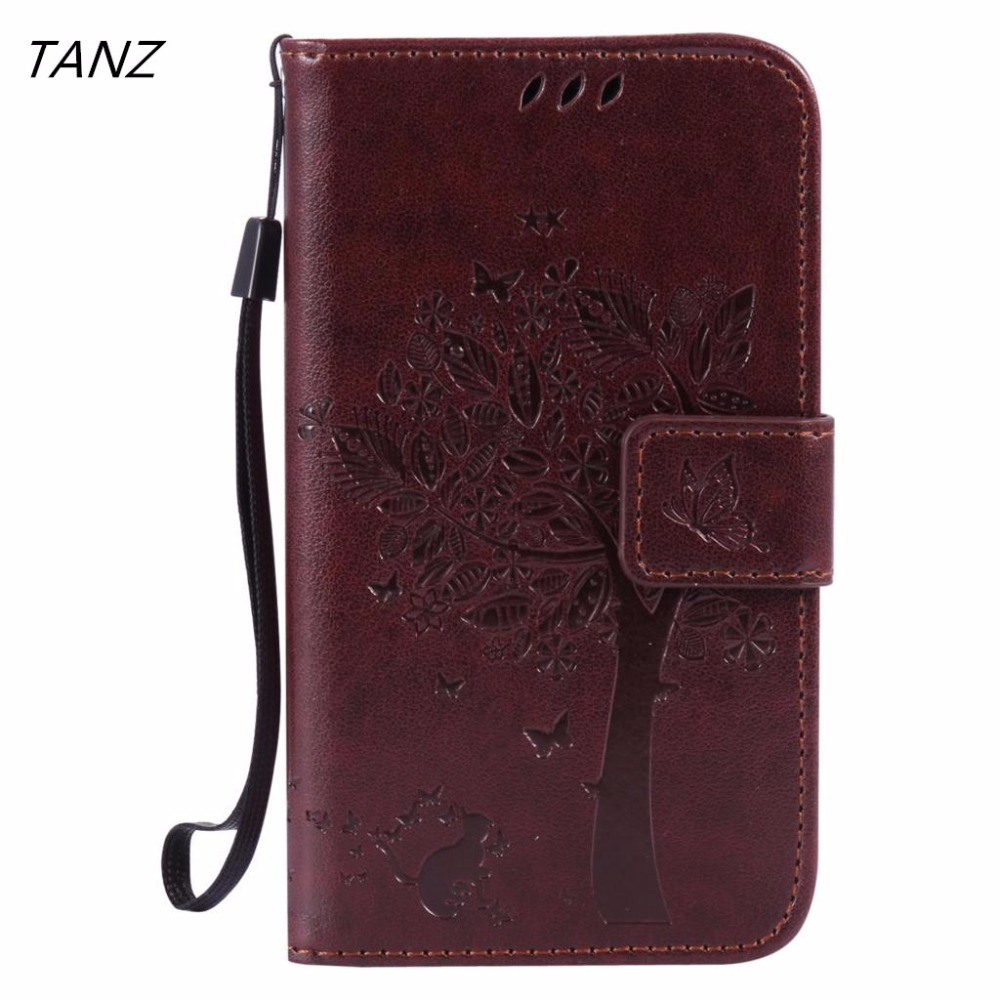 TANZ Wallet Leather case Cover for Samsung Galaxy j1 j2 j3 j5 j72016 Flip Leather case for Samsung j710 Galaxy case j1 j310 j510