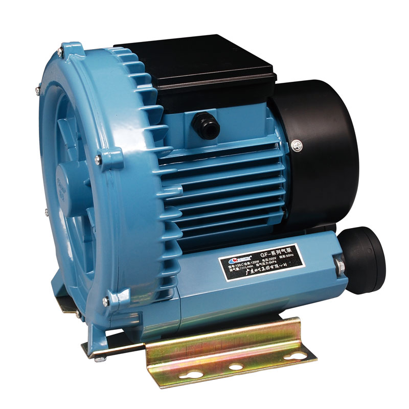 120W 300L/min RESUN GF 120C High Pressure Electric Turbo Air Blower Aquarium Seafood Air Compressor Koi Pond Air Aerator Pump