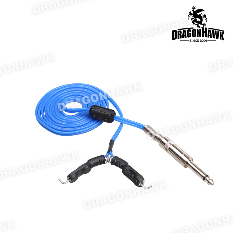 1 stk 1,8m Tattoo Strømforsyning Clip Cord for Tattoo Power Supply - Tatovering og kroppskunst - Bilde 5