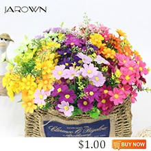 JAROWN-Simulation-Flower-Small-Daisy-7-Branch-Cosmos-Fake-Flower-Wedding-Decor-Home-Decoration-Living-Room