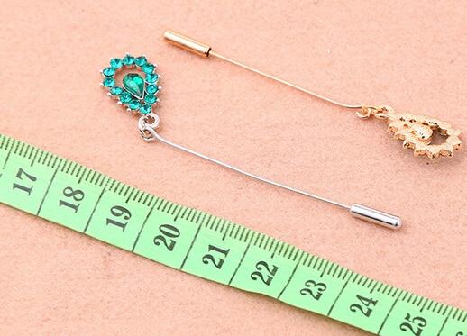 hijab pins scarf pin 12pc crystal hijab scarf pins muslim khaleeji fix safety pins mix colors