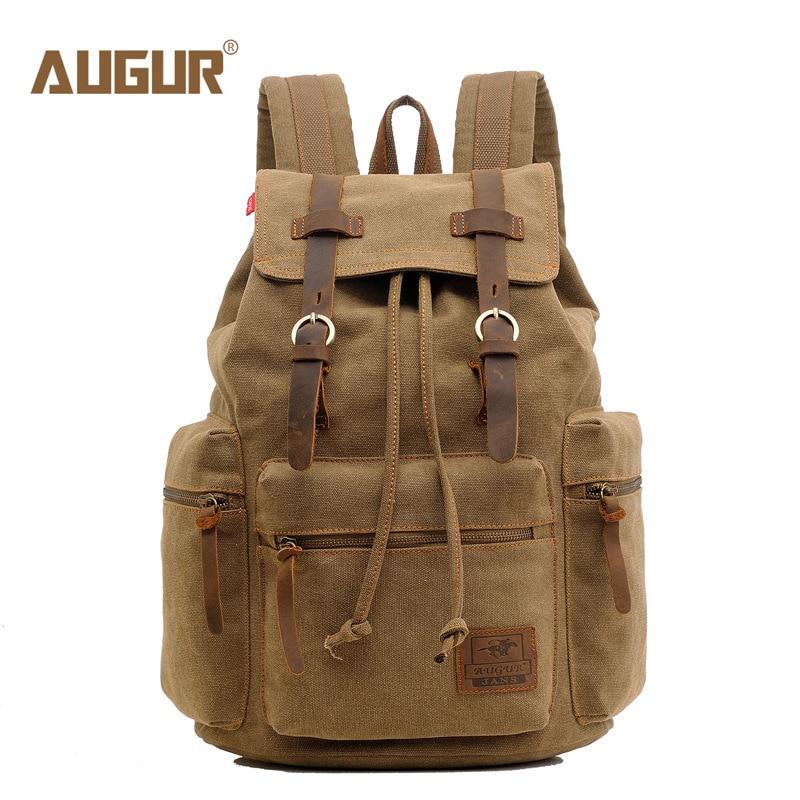 Backpack Vintage Canvas Backpack School Bag Travel Bags Large Capacity Travel Laptop Backpack Bag