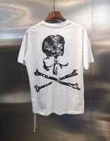 2019ss Mastermind Japan Big Skull Printed Women Men Logo T shirts tees Hiphop Streetwear Men Cotton T shirt MMJ