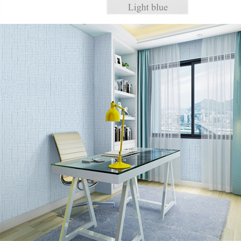 Minimalism Flax Plain Colour Wallpapers for Walls Textured Wallpapers For Living Room Home Decor Wall Papers Rolls Modern коляска everflo friend blue e 460 пп100003728