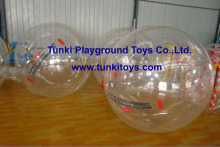 inflatable water walking water bomb running inside rolling human hamster ball agua bola