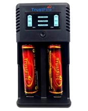 Trustfire TR-019 Intelligent Fast 2 Slots Battery Charger + 2pcs TrustFire 18650 3.7V 3000mAh Protected Batteries with PCB