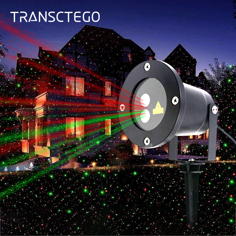 Christmas Lawn Projector Light Outdoor Led Laser Light Waterproof Garden Spotlight Holiday Landscape Yard Decoration Party Lamps 12 type rgb led snowflake projector light garden landscape light lawn lamp christmas light outdoor holiday decoration spotlight