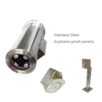 1080P HD Special Design Ip Camera 304 Stainless Steel Explosion & Corrosion Pretection Rj45 Network Camera Exd 2 CT6 Proof