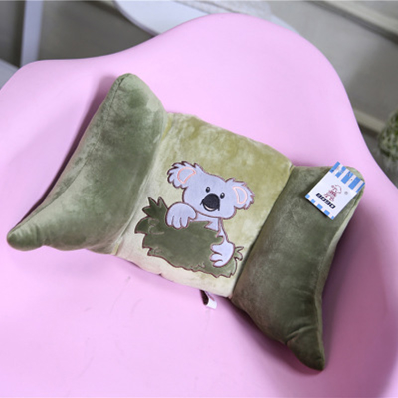 Office cushion cartoon cute car waist pillow large chair belt pillow cushion home bed pillow