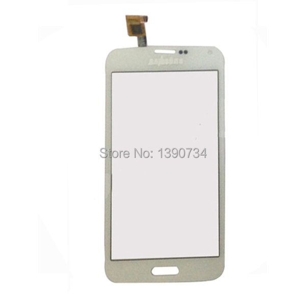 Branco sensor de vidro do painel de digitador da tela de toque para a estrela g900 china cópia clone samsung s5 g900 i9600 h9600 1250v1. 0/1250v1. 1