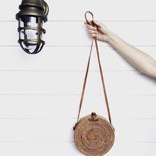 Hand Woven Bag Round Bag (Rattan Straw Bags)