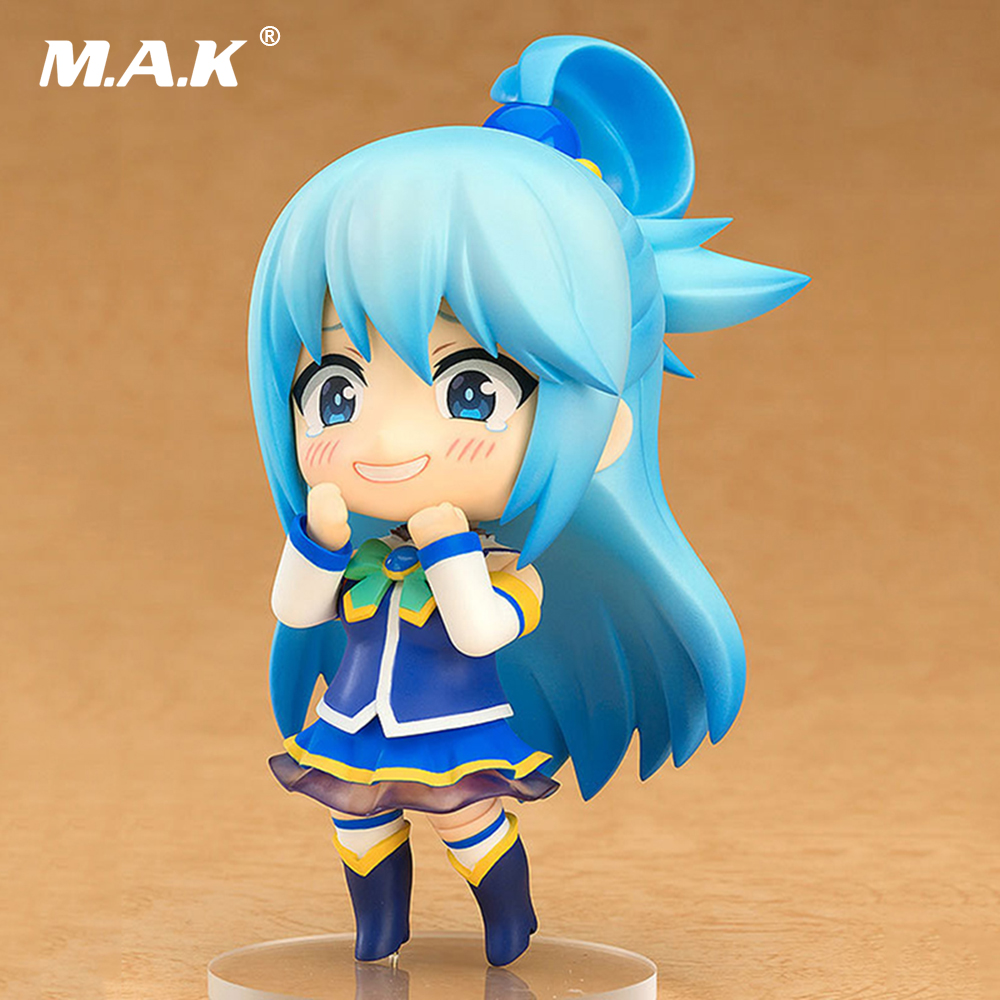 10CM Gifting the Wonderful World With Blessings Aqua 630 Nendoroid PVC Action Figure Collectible Models Gifts Toys Brinquedos