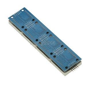Image 4 - MAX7219 LED Mikro 4 In 1 Ekran 5P Hattı ile Nokta Vuruşlu Modül 5V Çalışma Voltajı Arduino için 8x8 Dot Matrix Ortak