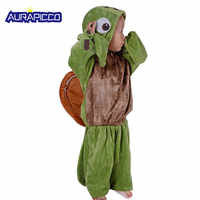 Sea Turtle Costume For Kids Ocean Animal Green Chelonia Mydas Cosplay Halloween Finding Nemo Fancy Dress Kids Animal Pajamas