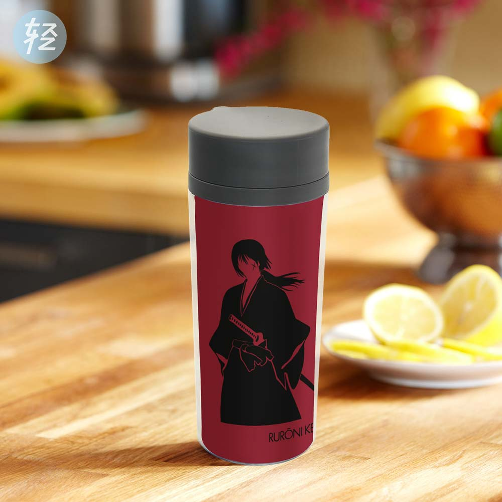 popular red water bottlebuy cheap red water bottle lots from  - personalized japanese anime modern drinkware bpa free plastic insulatedrurouni kenshin red pop movie water bottles