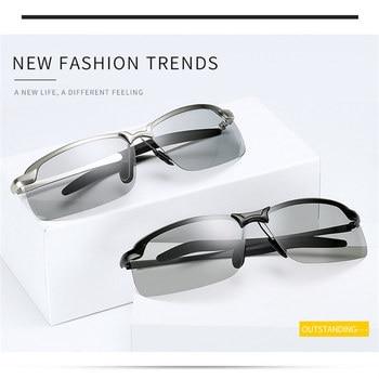 UVLAIK Classic Driving Chameleon Sunglasses  4