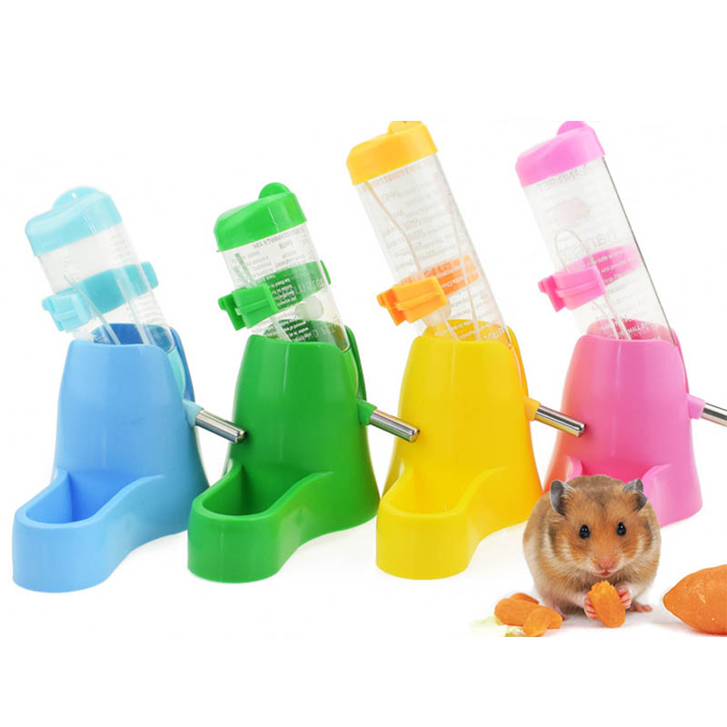 3 Styles font b Pet b font Drinking Bottles Automatic Feeding Device Small Animal Accessories 1
