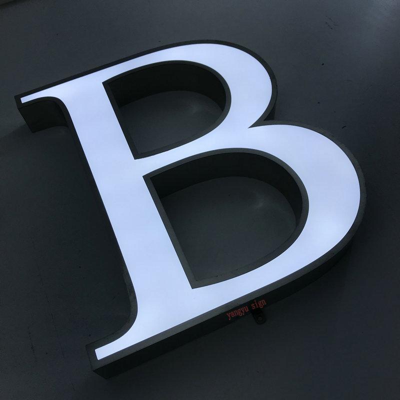Logotipo personalizado sinais de negócios à prova