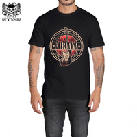 Rocksir NIRVANA EST 1988 Design T Shirt Men Cotton T Shirt Men Casual Men S T