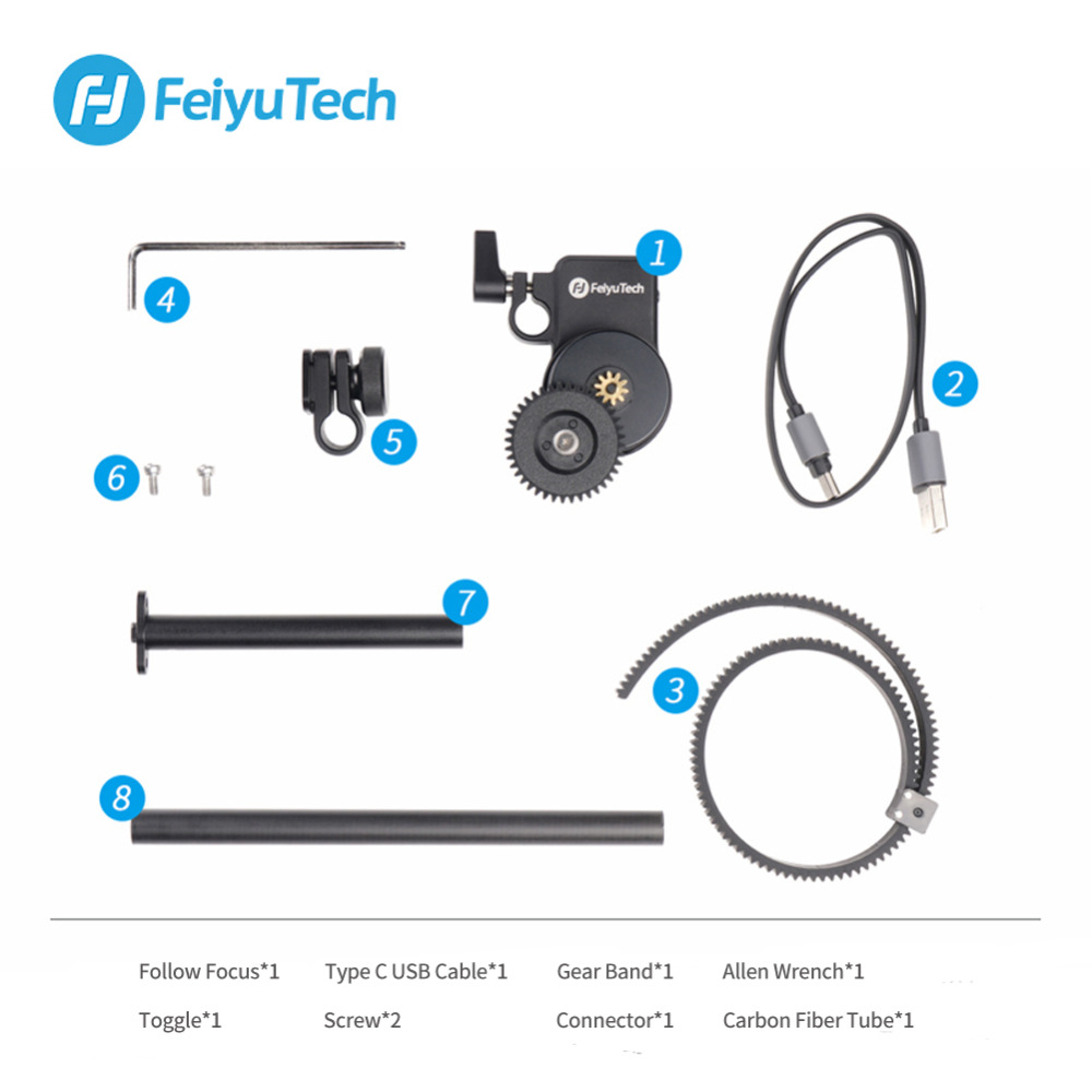 Motor Follow Focus AKFII Brushless Motor Follow Focus Ring