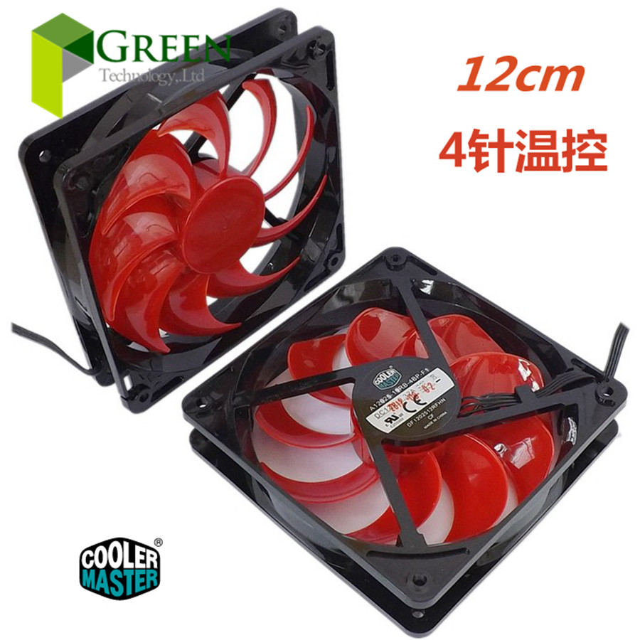 L'originale Cooler Master 12025 120 MM 12 cm case Del Computer CPU Cooling fan 12 V 0.32A ventilatore con PWM pin