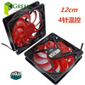 The original Cooler Master 12025 120MM 12cm  Computer case CPU Cooling fan 12V  0.32A  fan with PWM 4pin