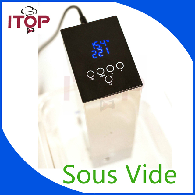 itop sous vide immersion circulator precision cooker 220v fit for europe euukau - Immersion Circulator