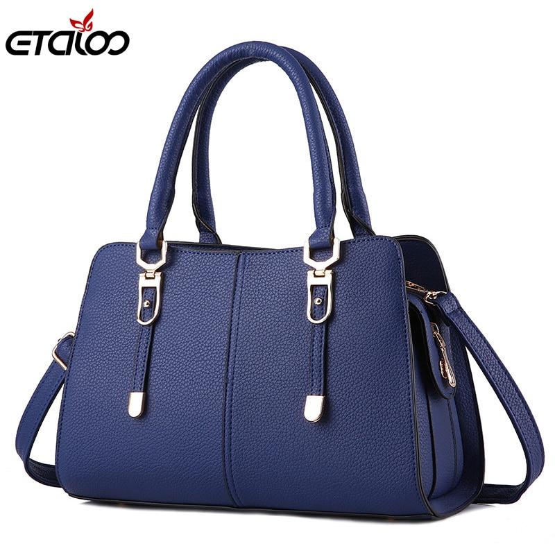 Women bag the new wave of summer models ladies handbag fashion simple shoulder bag Messenger bag