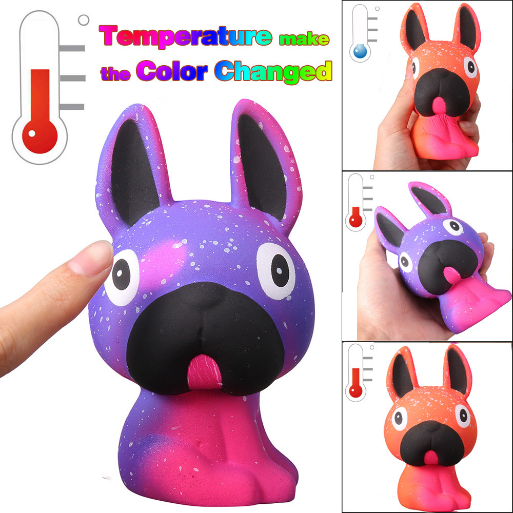 Cute Colour Changing Pug Doggy (Galaxy and Orange) 1