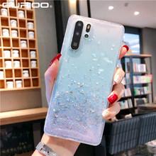 Błyszczące cekiny miękki przezroczysty futerał dla Huawei P10 P20 P30 Lite mate 20 Pro PSmart Plus 2019 Honor 10 20 Lite V10 V20 Nova 3 3i 4 tanie tanio Gurioo Anti-knock Odporna na brud Aneks Skrzynki Bling Glitter Epoxy Transparent Soft Case Huawei P9 Geometryczne Cytaty i Wiadomości