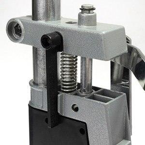 Image 5 - Elektrikli matkap standı güç döner araçları aksesuarları tezgah matkabı basın standı DIY aracı çift kelepçe taban çerçeve matkap tutucu