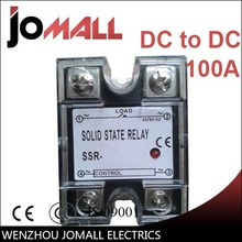 SSR -100DD DC control Single phase Solid state relay