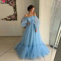 TaoHill Синий Вечерние платья одежда с длинным рукавом платье невесты с открытыми плечами и вырезом сердечком средства ухода за кожей шеи плеч