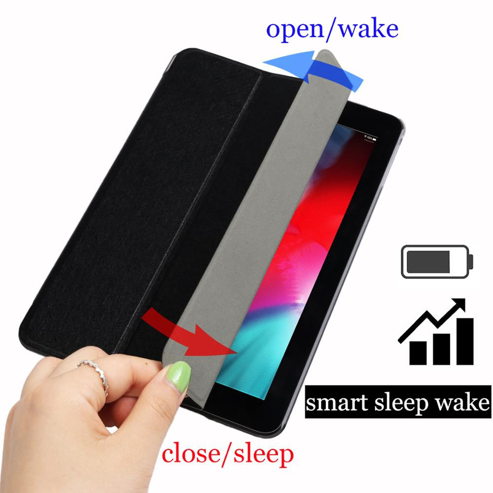 tablet flip case for Samsung Galaxy Tab A 8 0 quot 2017 Smart wake UP Sleep leather fundas Stand cover Solid bag capa for T380 T385 in Tablets amp e Books Case from Computer amp Office